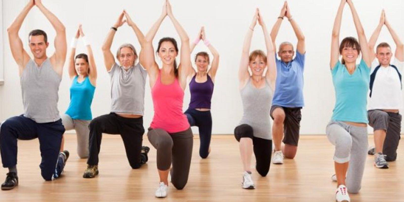 Los ejercicios son necesarios para llevar una vida fit Foto:Fuente Externa