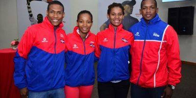 Atletas dominicanos que representarán al país en los Juegos Olímpicos Foto:Fuente Externa