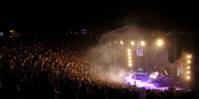 El Alto de Chavón estuvo a casa llena en el concierto de J Balvin, Zion & Lennox Foto:Fuente Externa