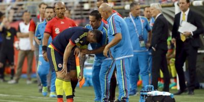 La lesión de James Rodríguez que asustó a todo Colombia Foto:Getty Images