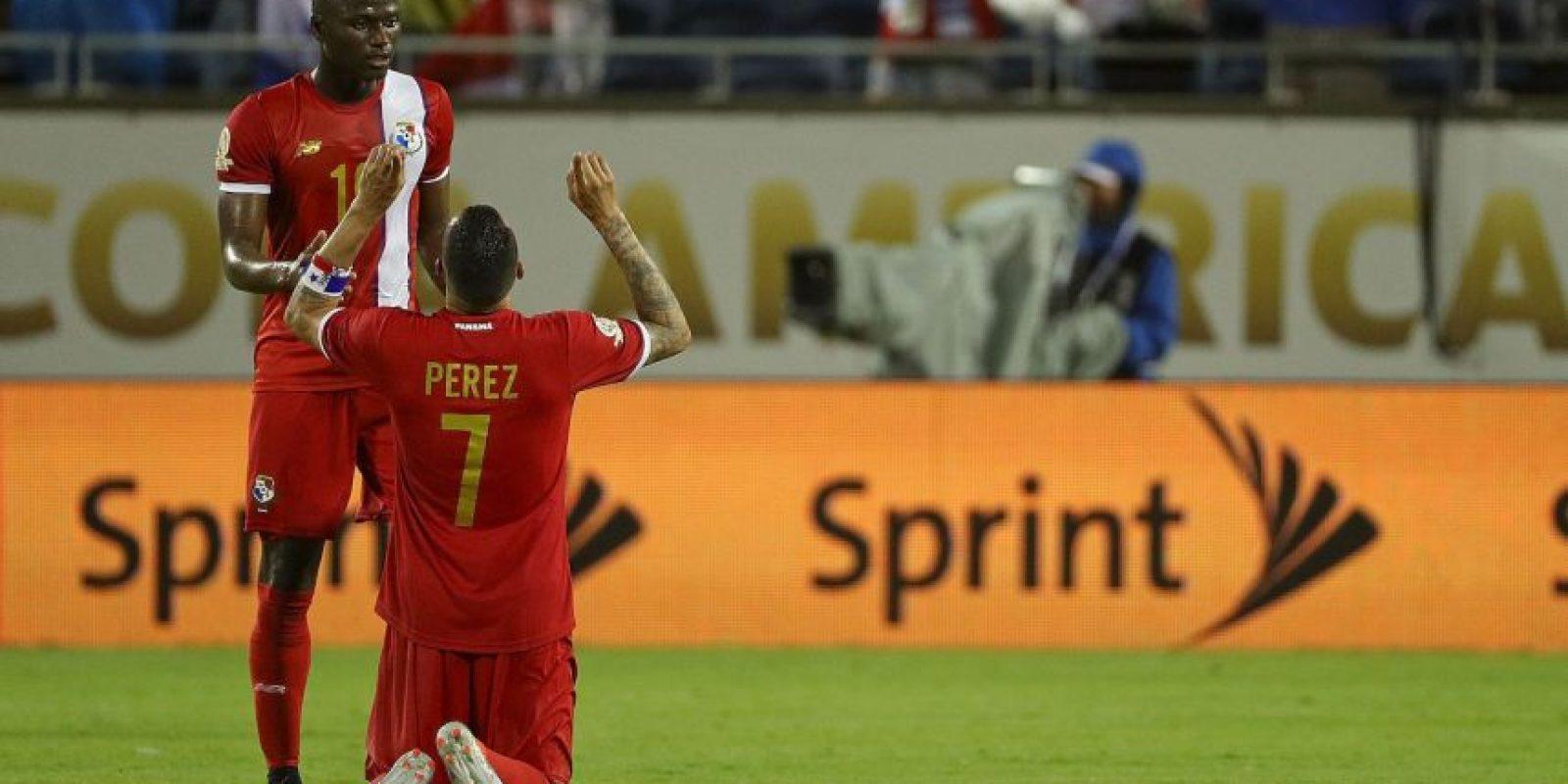 Panamá cumplió en su debut Foto:Getty Images