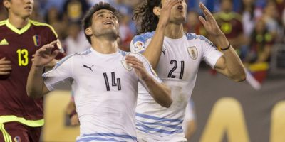La eliminación de Uruguay Foto:Getty Images