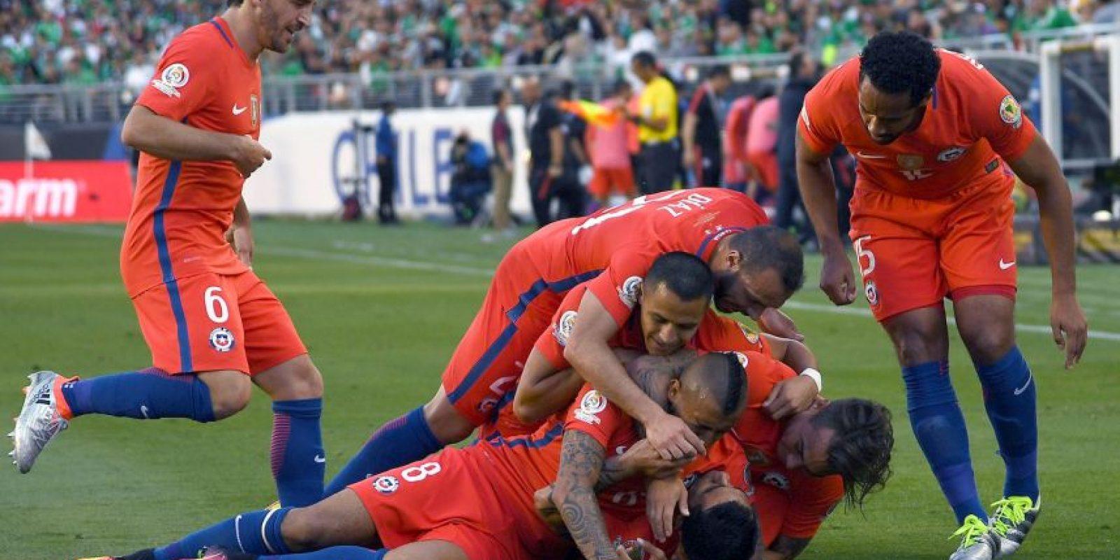 Chile humilló a México con un 7 a 0 Foto:Getty Images