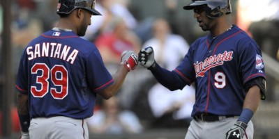 Santana y Núñez suenan sus bates en triunfo de Mellizos