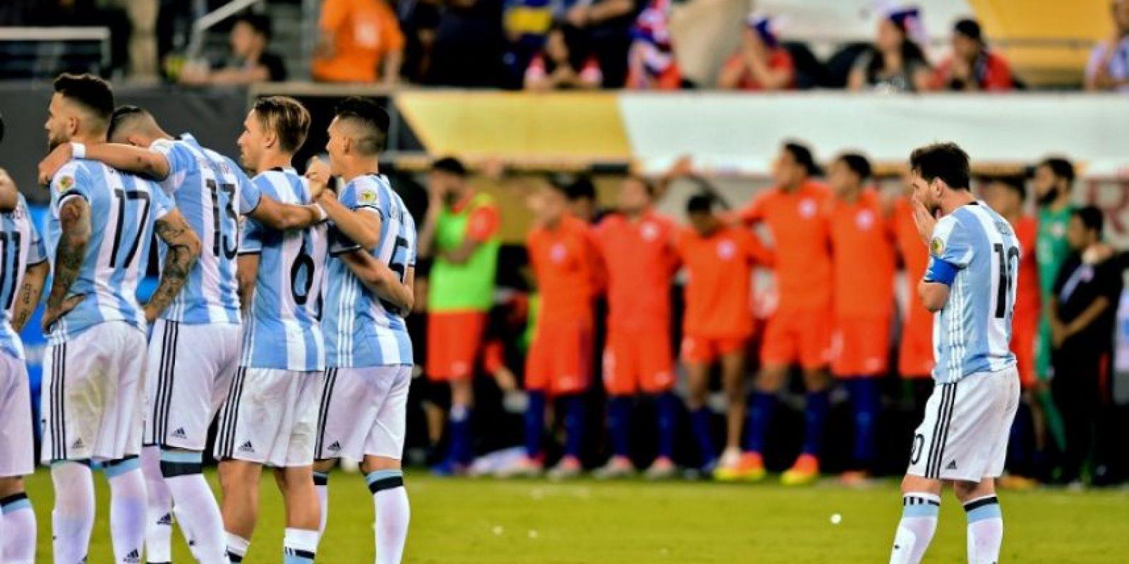 Lionel Messi perdió la Copa América 2007, Brasil 2014, Copa América 2015 y Copa Centenario Foto:AFP