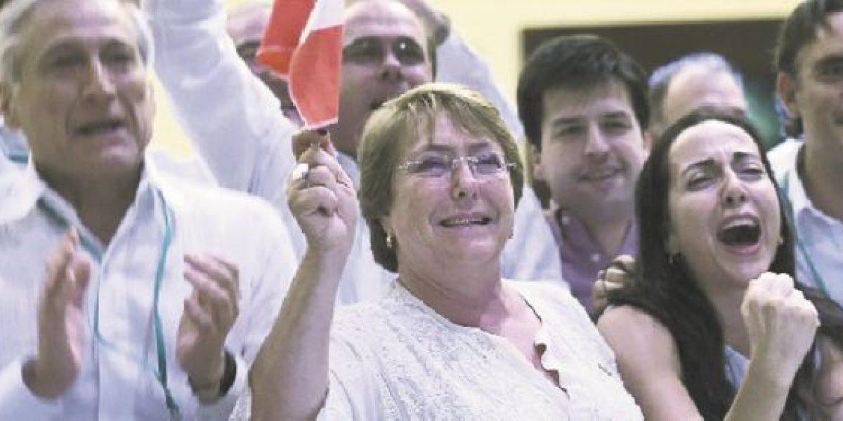 "Presidenta Bachelet celebró:  ""Gracias chiquillos, ¡Viva Chile!"""