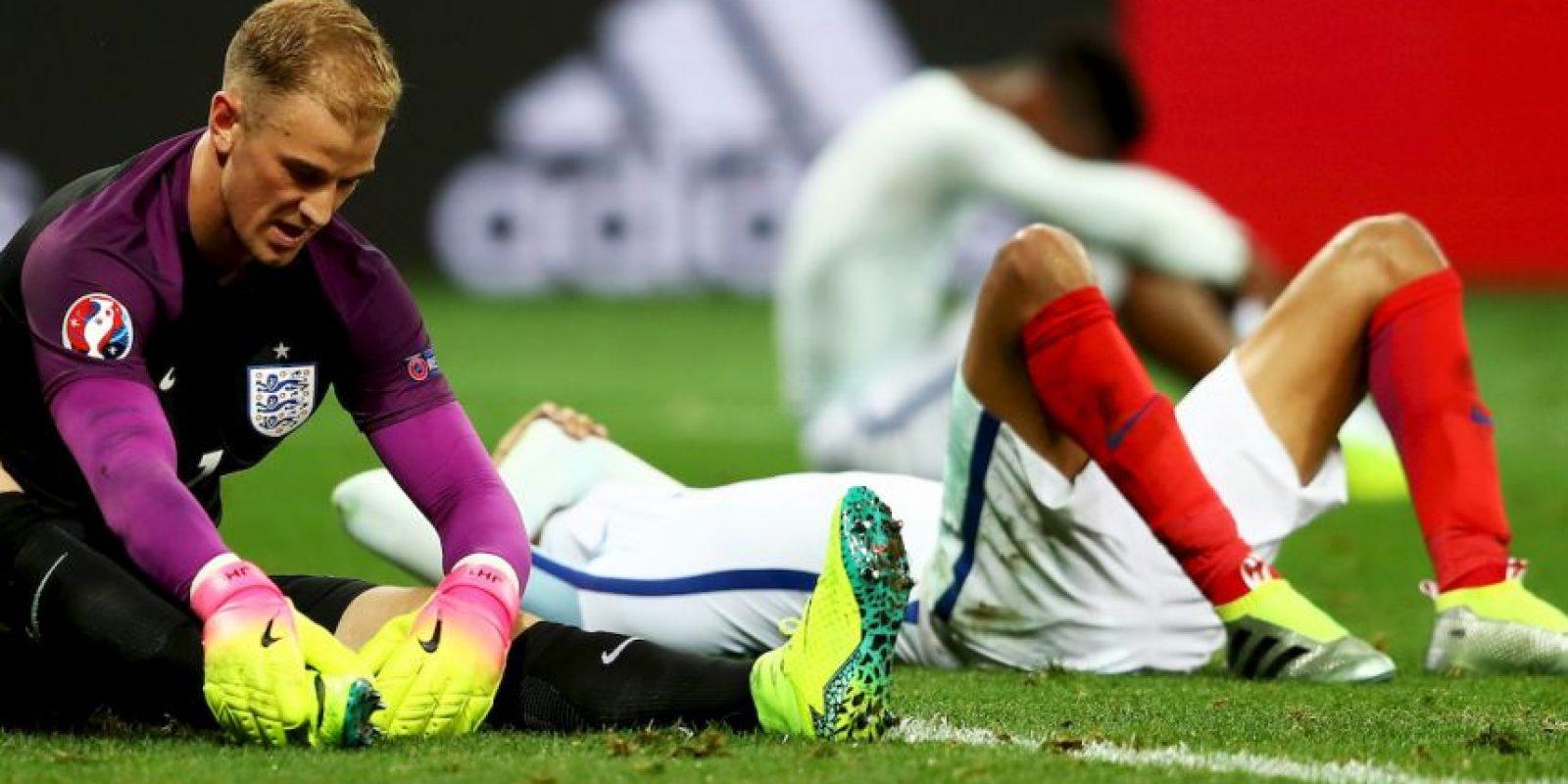 Los ingleses fueron sorprendidos por la sorprendente selección debutante, lo que provocó la rabia de la prensa inglesa Foto:Getty Images
