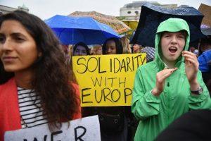 Se estima que hubo mil 500 participantes a la concentración Foto:Getty Images