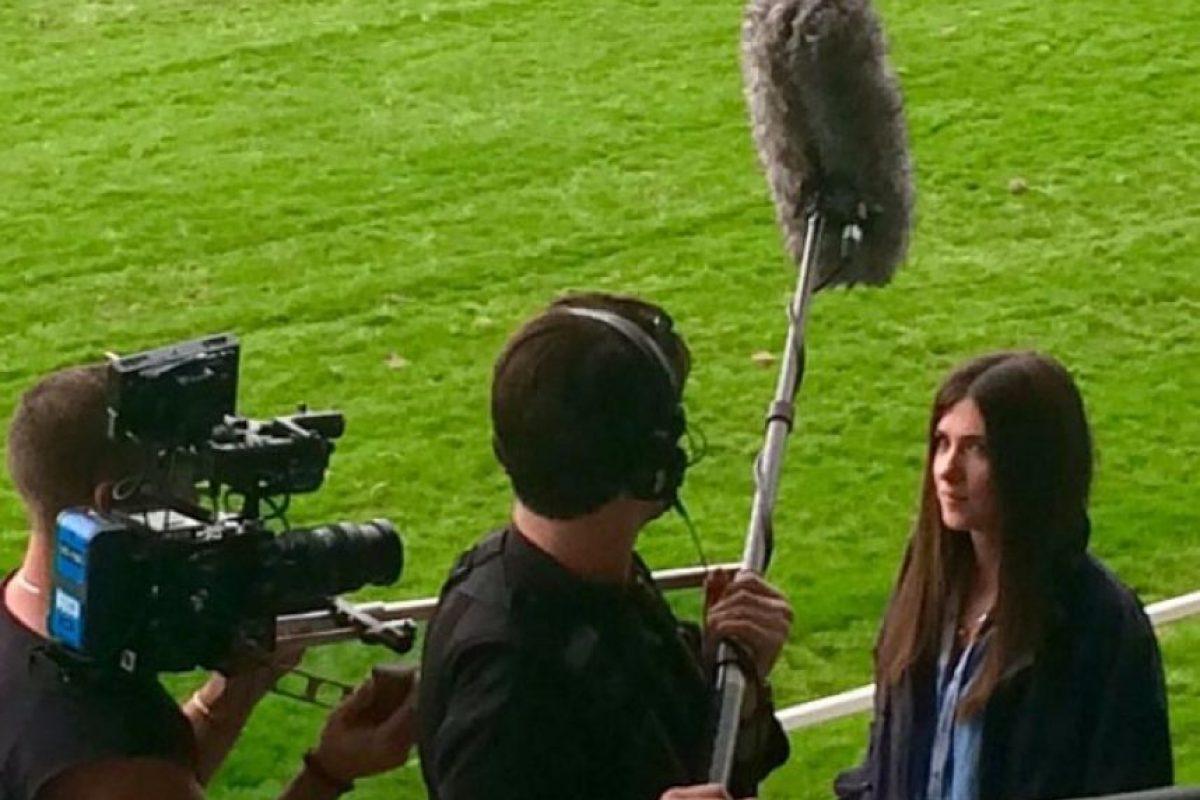 """Actualmente trabaja en el programa """"Top Gear"""" de la BBC. Foto:Vía Twitter/@auroramulligan"""