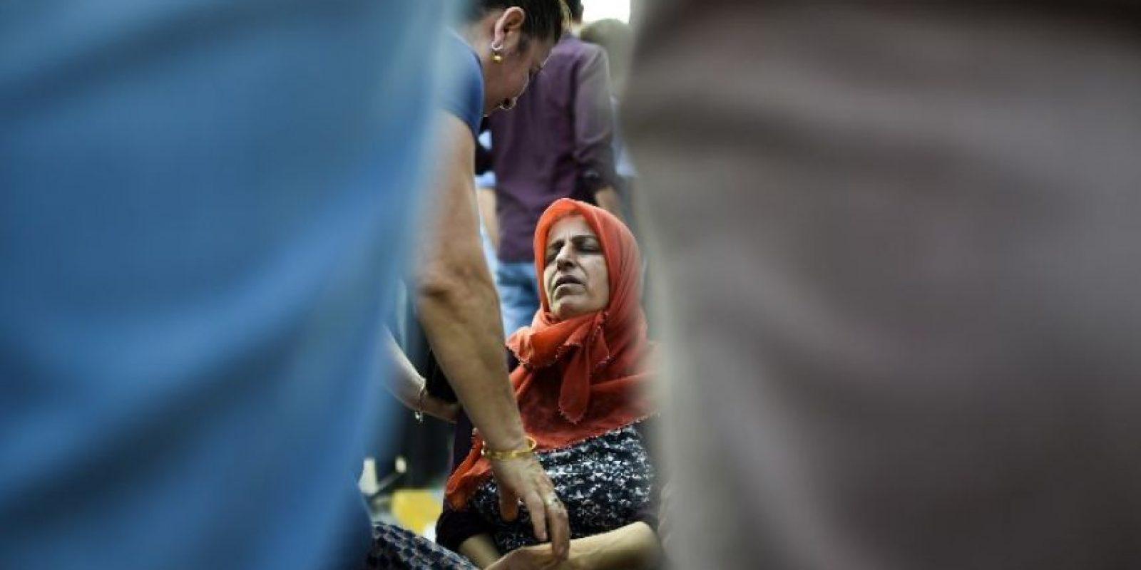 Seis se reportan de gravedad, lo que podría aumentar la cifra de fallecidos Foto:AFP
