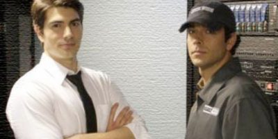 "Brandon Routh en ""Chuck"" Foto: NBC"
