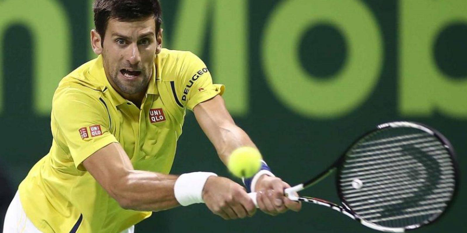 3- Novak Djokovic. Número uno de la clasificación ATP y ganador de 12 torneos de Grand Slam, Djokovic es un sinónimo de triunfo en el tenis. A pesar de tener a rivales de consideración, el serbio se ha perpetuado como el mejor del mundo, al grado de que Andy Murray, su más cercano perseguidor por la supremacía en el tenis, se encuentra a 8,755 puntos de distancia del primer lugar. Cuatro veces ganador del premio al Jugador de la Federación Internacional de Tenis y dueño de innumerables marcas mundiales, Djokovic es una apuesta a ganar en todo momento. Foto:Fuente externa