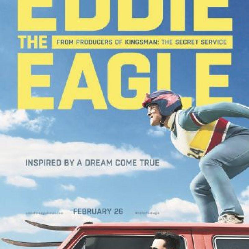 3- Eddie the Eagle: Cuenta la historia de Michael Edwards, el saltador de esquí más famoso de la historia británica. Fue su fracaso, su carisma e inocencia, y su perseverancia, lo que hicieron que se ganara la simpatía del público. Foto:Fuente externa