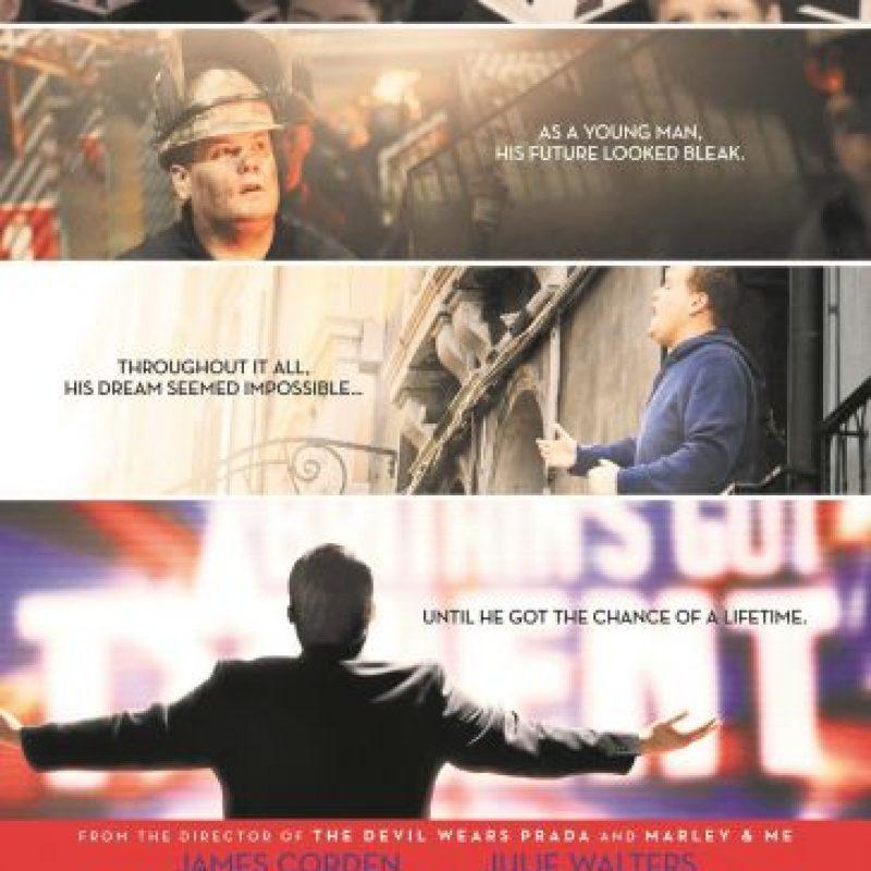"""4- One Chance: En la película desde la niñez, hasta que Paul Potts se convierte un gran cantante a su salida del concurso """"Britain's Got Talent"""", logra lo que pensó no era posible, porque el mundo lo había convencido de su incapacidad. Foto:Fuente externa"""