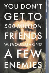 1- The social network: Narra la historia de Mark zuckerberg , conocido por crear la red social Facebook. Un ser antisocial, que abre las puertas al mundo de la comunicación. Foto:Fuente externa