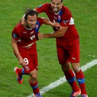 Petr Jiracek es el quinto gol más rápido de la Eurocopa. El checo se demoró 2:14 minutos en anotar uno de los tantos en la victoria por 2 a 1 de su selección ante Grecia en la fase de grupos de la Eurocopa 2012 Foto:Getty Images