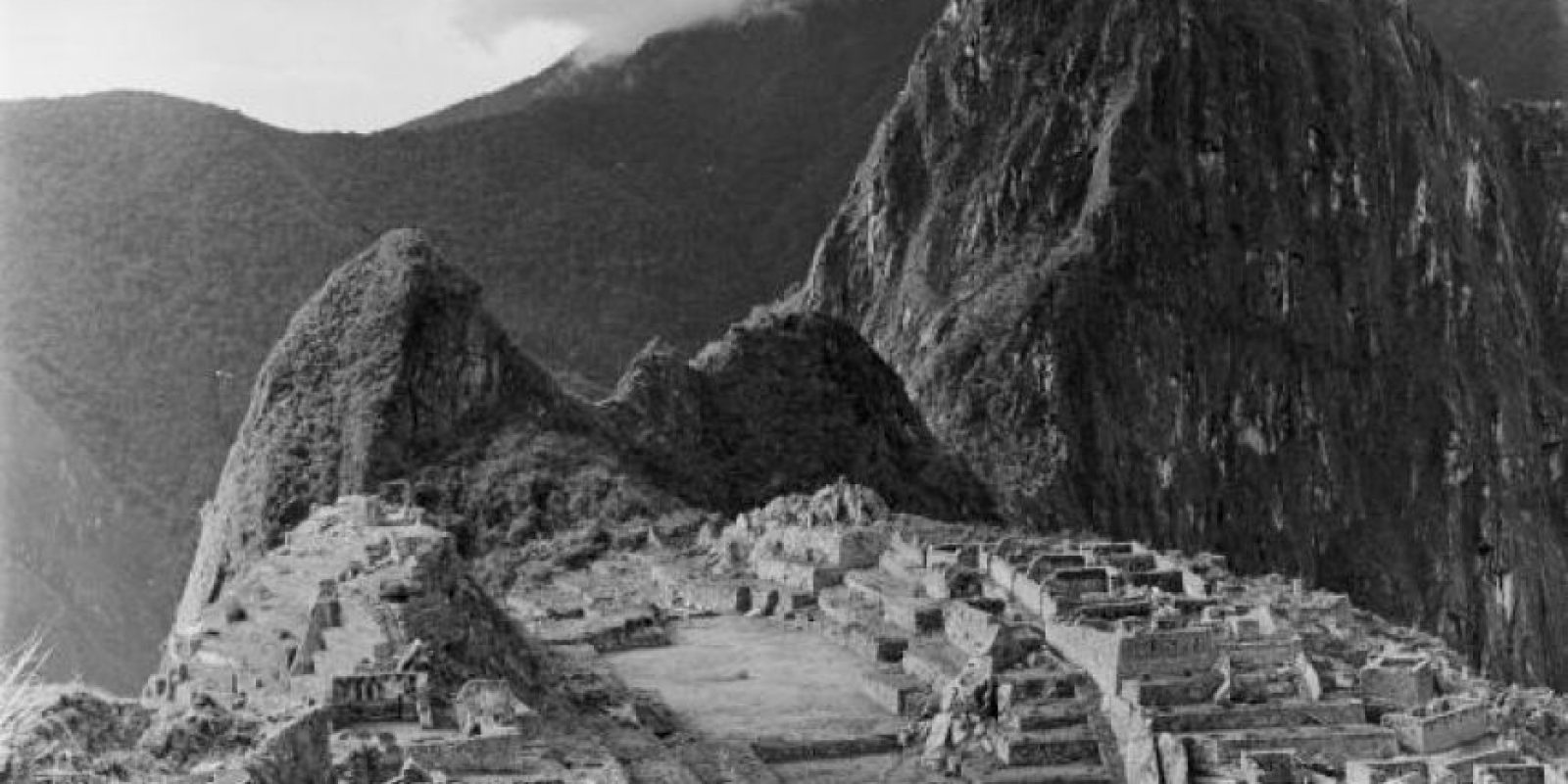 Machu Picchu en 1955 Foto: Getty Images