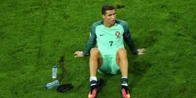 Cristiano Ronaldo es un cabalero por excelencia Foto:Getty Images