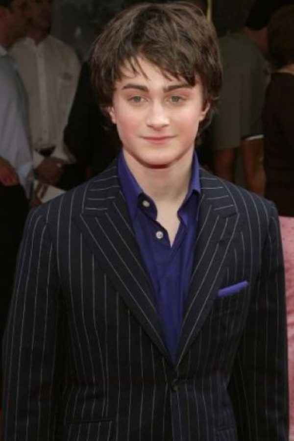"""Así lucía en la primera película de """"Harry Potter"""" Foto:Getty Images"""