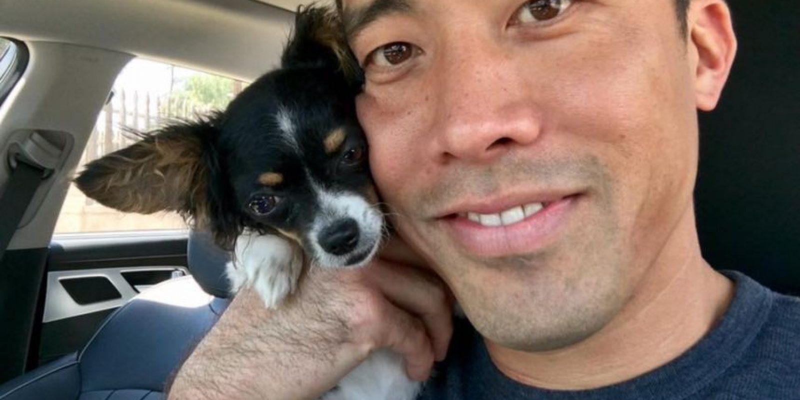 Marc Ching salvó a mil perros de morir en el Festival de Carne de Yulin Foto:The Animal Hope & Wellness Foundation