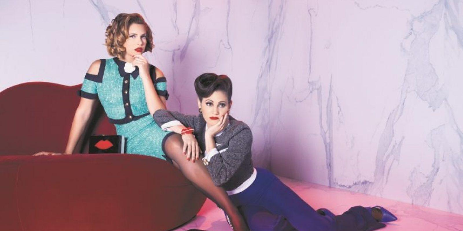 Pamela Sued y Carolina Rivas son las productoras de la obra. Foto:Fuente externa