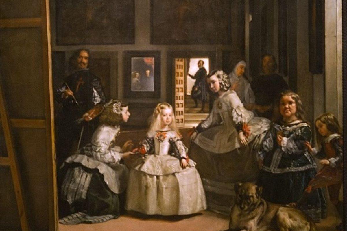 """El pintor Diego de Velázquez, en el famoso retrato de """"Las Meninas"""". Foto: Getty"""