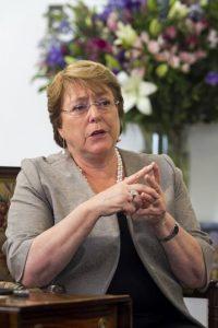 Michelle Bachelet Foto:Fuente externa