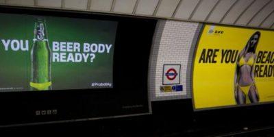 Otras empresas también colocaron sus anuncios similares Foto:Twitter.com