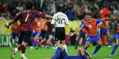 En 2006 se encontraron en el Mundial e Italia eliminó a Alemania en la semifinal Foto:Getty Images