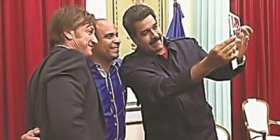 El selfie de Nicolás Maduro con Sean Penn