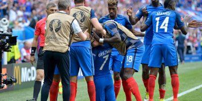 Los franceses llegaron hasta cuartos de final tras vencer a Irlanda en octavos de final Foto:Getty Images