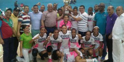 Las Olímpicas de La Vega son primeras campeonas de la LNBF