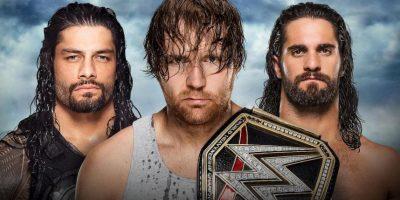 Será una amenaza triple ante Seth Rollins y Roman Reigns Foto:WWE