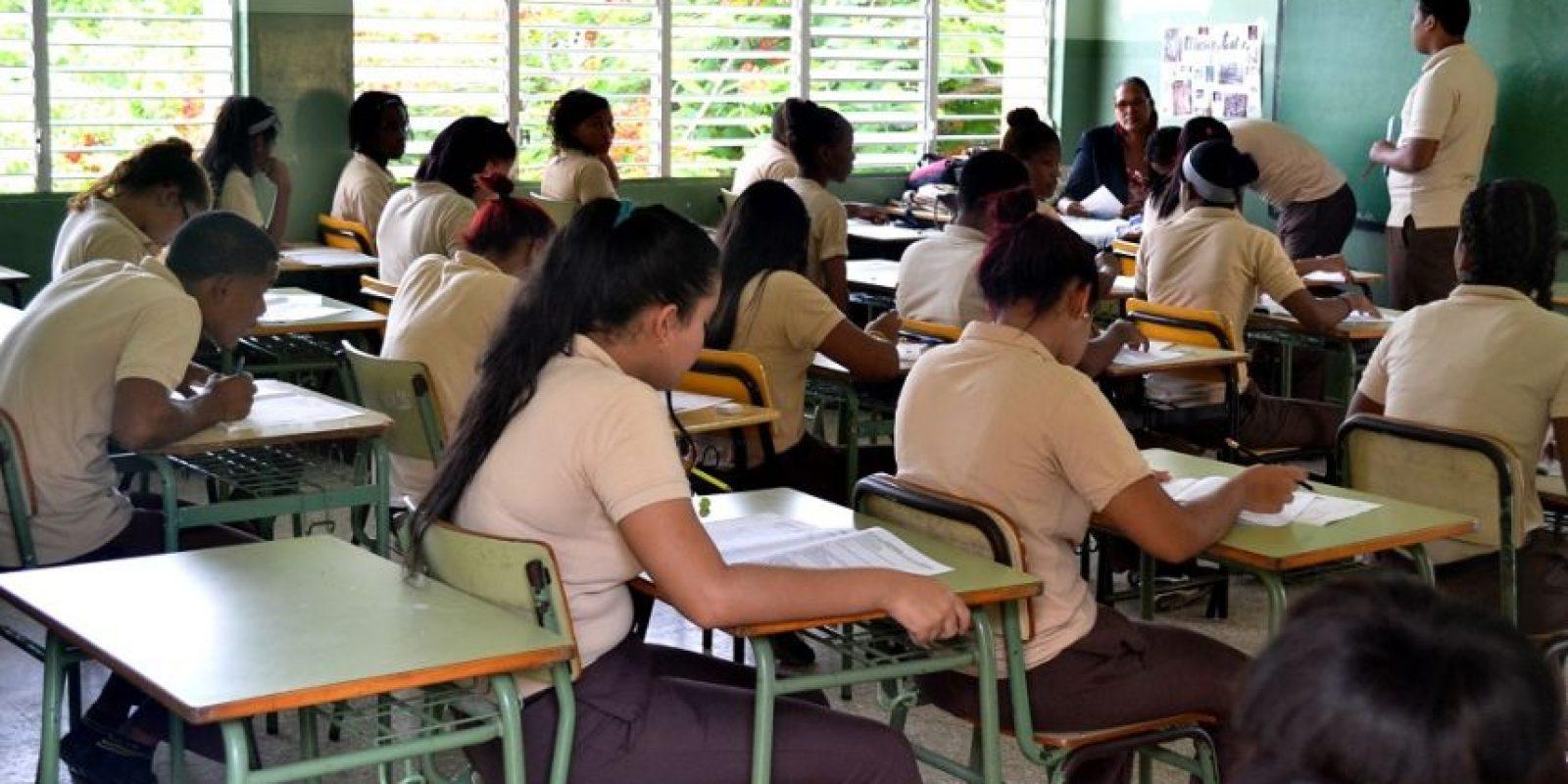 La Pruebas Nacionales no ayudan a evaluar y ajustar el sistema educativo. Foto: MetroRD