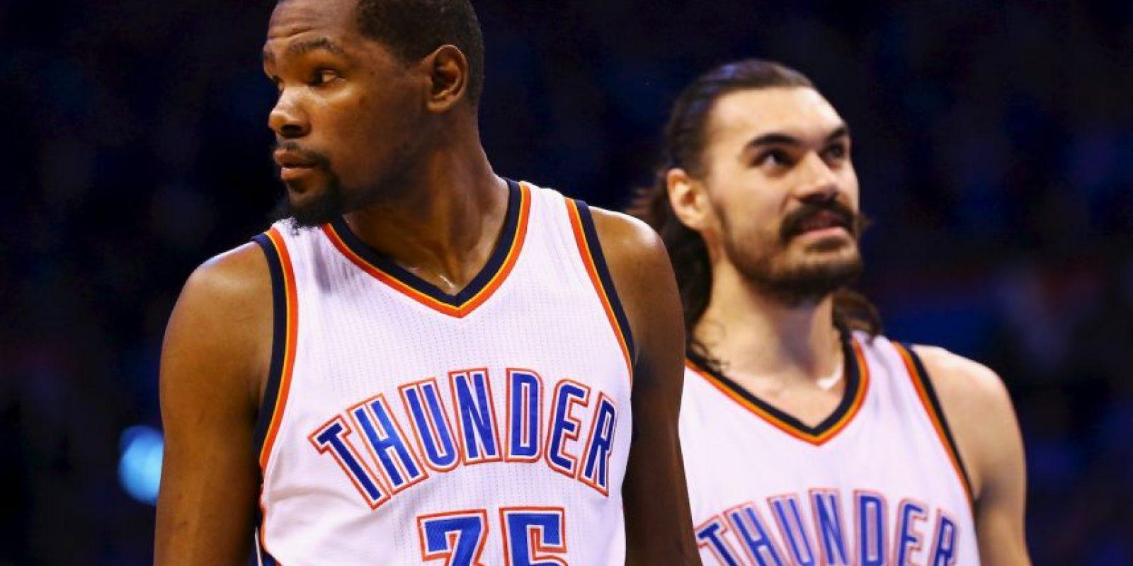 Luego de toda una vida en Oklahoma, Durant dio un giro a su carrera y parte a Golden State Warriors Foto:Getty Images