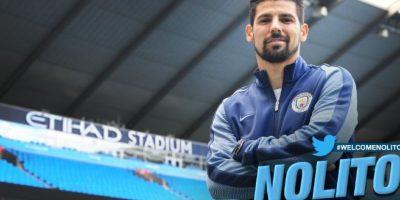 Nolito es la gran incorporación de Manchester City Foto:Sitio web Manchester City
