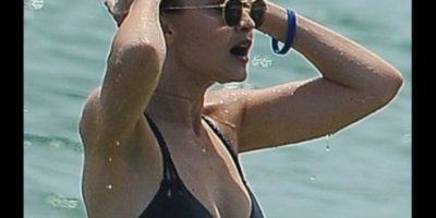 Gigi Hadid impacta con diminuto bikini