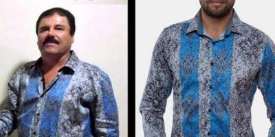 Esta camiseta del Chapo se hizo viral y fue un éxito en ventas. Foto:Tumblr