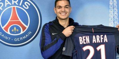 Hatem Ben Arfa estuvo en la mira de Barcelona, pero llegó como agente libre a PSG Foto:Sitio web PSg