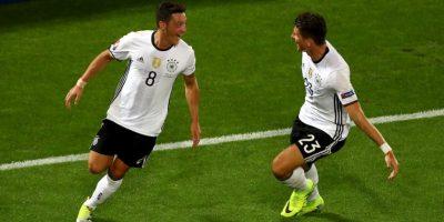 Alemania es candidata desde el inicio del torneo. Para avanzar a semifinales tuvo que sufrir una infartante definición a penales con Italia Foto:Getty Images