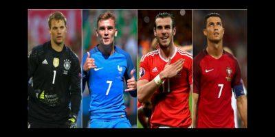 Los 4 líderes de los semifinalistas de la Eurocopa 2016