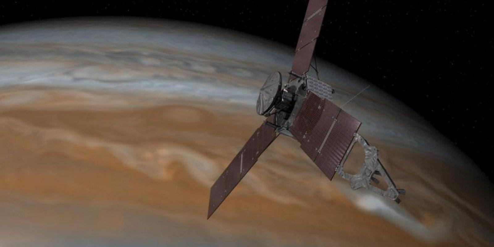 La sonda espacial tardó cinco años en llegar hasta la órbita de Júpiter Foto:NASA