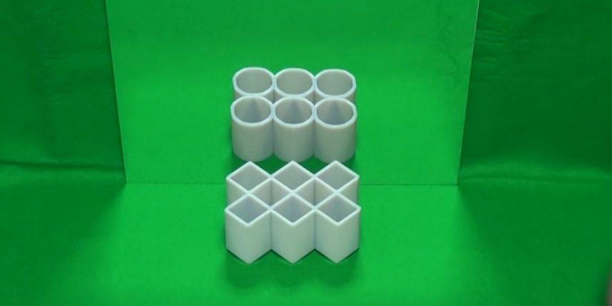 ¿Pueden explicar cómo funciona esta ilusión óptica?