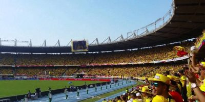 3. Estadio Metropolitano de Colombia Foto:Getty Images