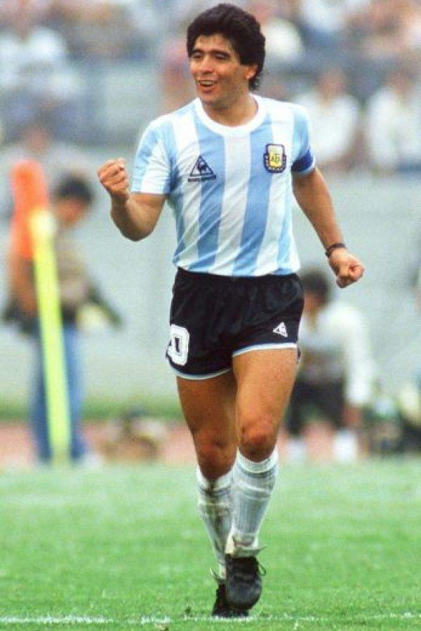Diego Armando Maradona, ex futbolista campeón del mundo en 1986. Foto:Getty Images