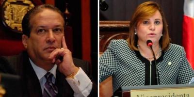 Pared Pérez y Lucía Medina presidirán Senado y Cámara Diputados por un año