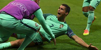 Cristiano Ronaldo clasificó a la final de la Eurocopa tras vencer por 2 a 0 a Gales Foto:Getty Images