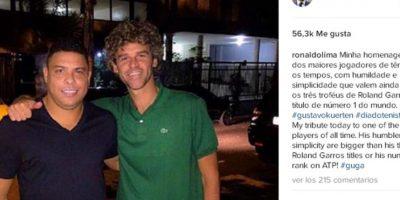 Ronaldo Nazario Foto:Instagram