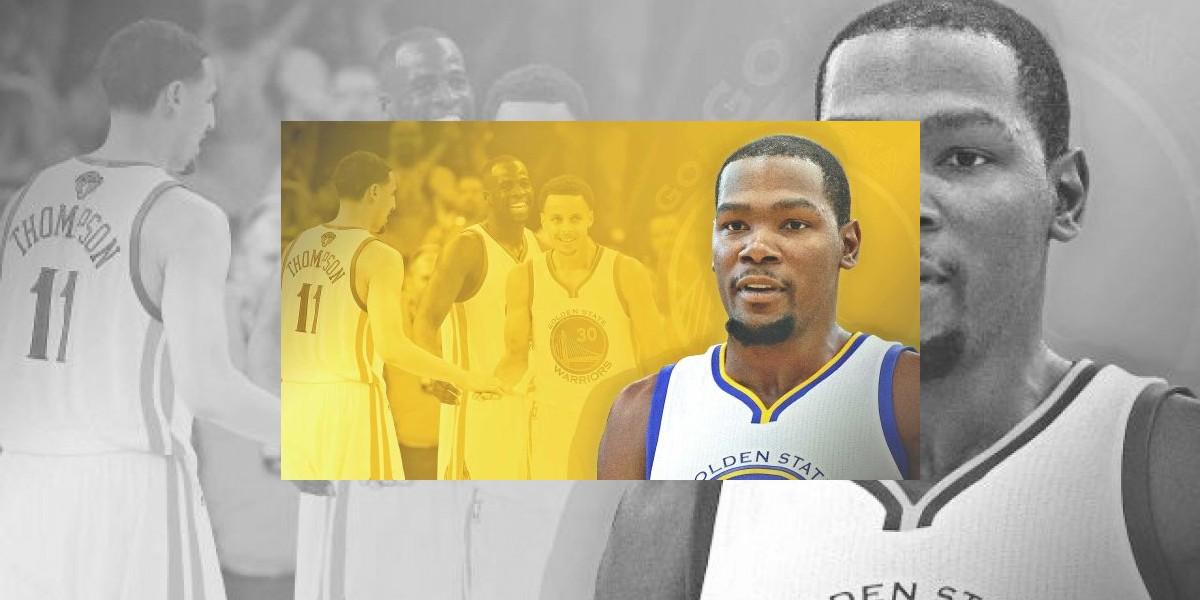 Los Warriors hacen oficial fichaje de Kevin Durant