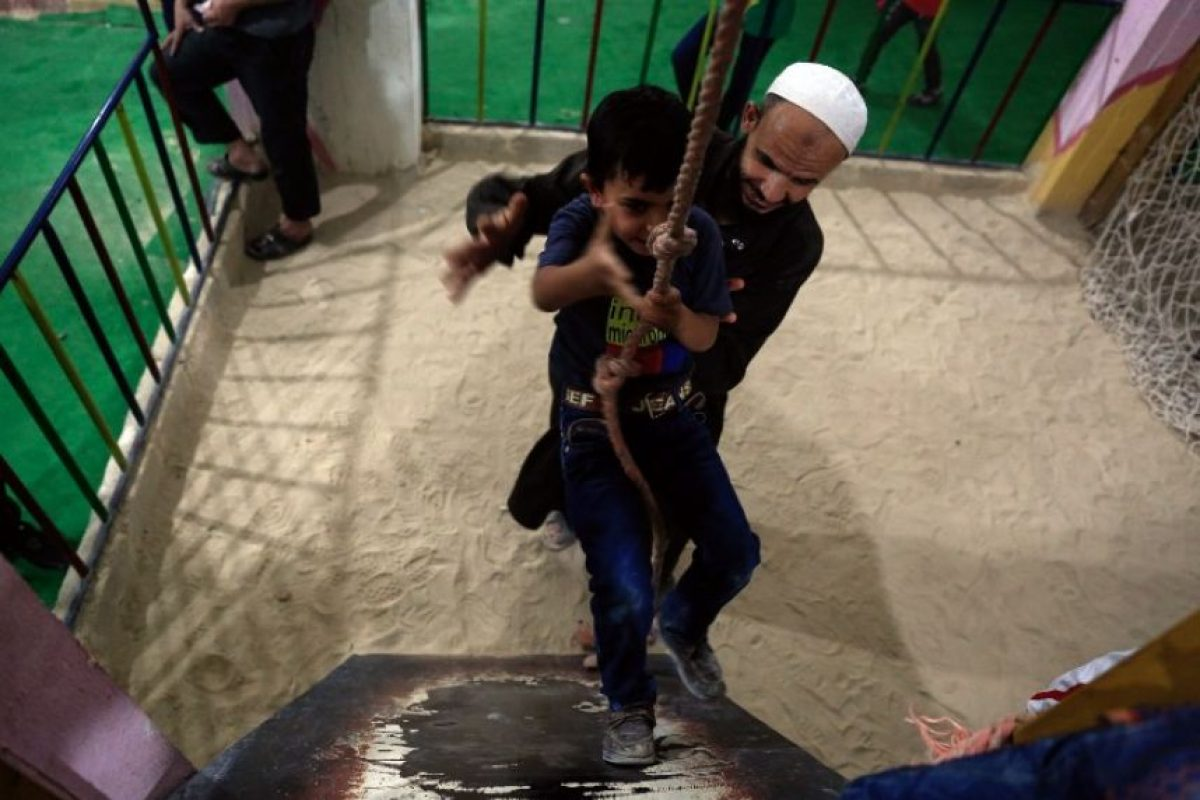 UNICEF calcula que el 80% de los menores han sido afectados por la violencia en Siria Foto:AFP